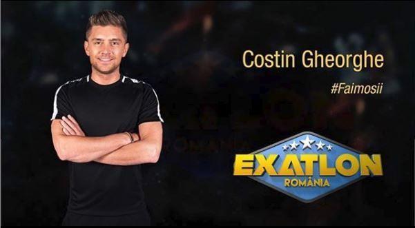 Costin, fratele Elenei Gheorghe este concurent la Exatlon