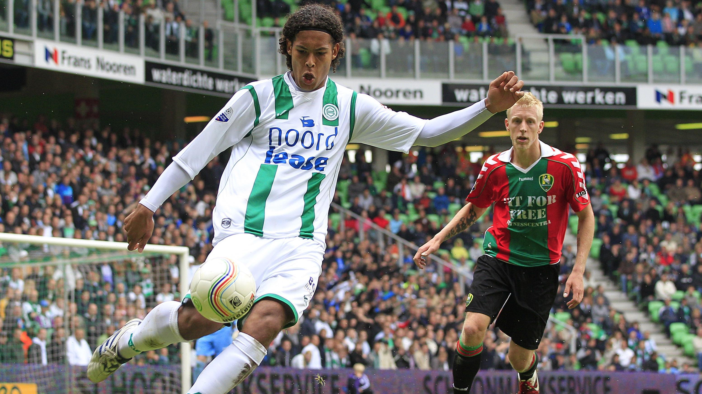 Virgil van Dijk a început fotbalul la FC Groningen