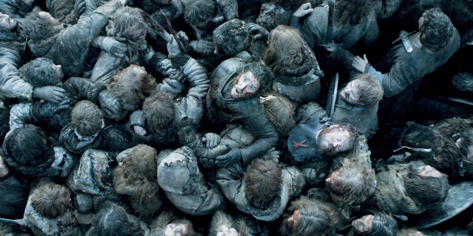 Jon Snow în lupta bastarzilor, scena înfricoșătoare din sezonul 6