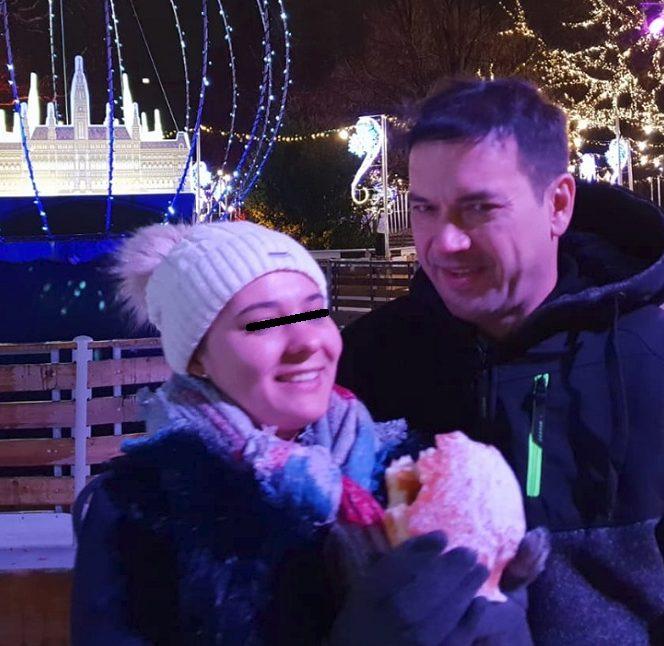 Rudolf Heinz și soția sa Geanina păreau mai fericiți ca niciodată