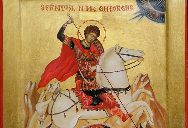 Viața Sfântului Gheorghe, prăznuit pe 23 aprilie