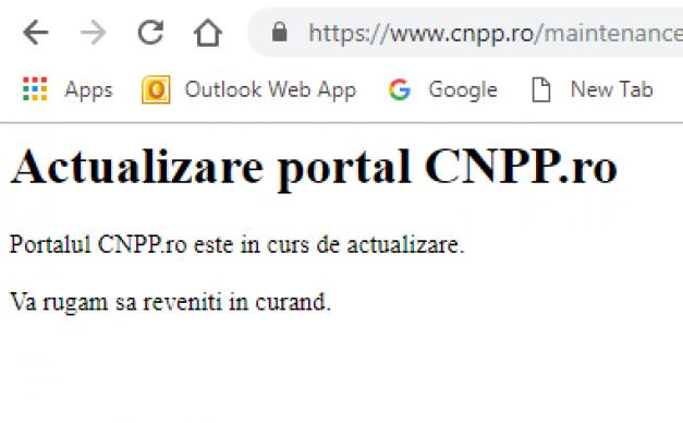 Probleme pentru toți pensionarii! Site-ul CNPP nu funcționează de mai multe zile. Nu se poate folosi calculatorul de pensii