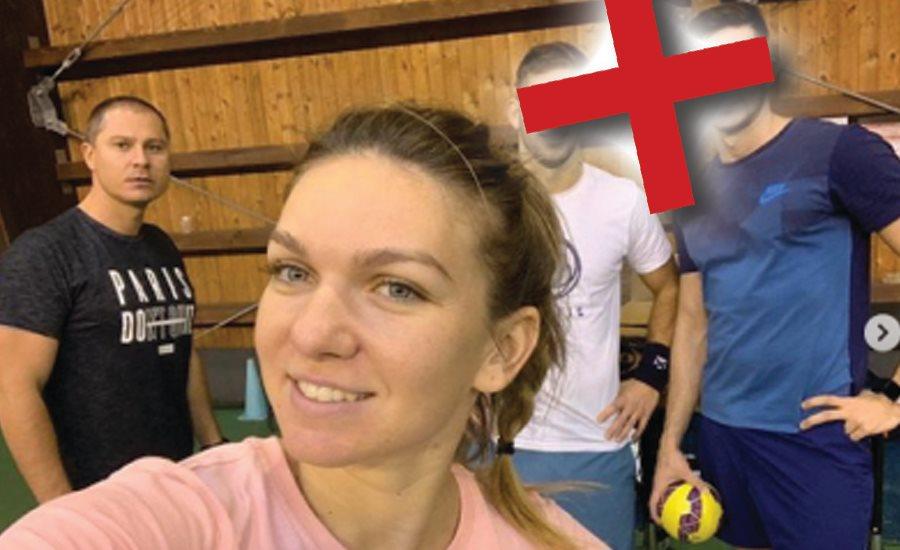 Simona Halep a şters de pe instagram poza în care apărea alături de Andrei Cristofor, Vasile Antonescu şi Teo Cercel
