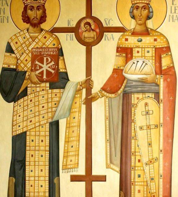 Sfinții Constantin și Elena sunt cinstiți astăzi, 21 mai