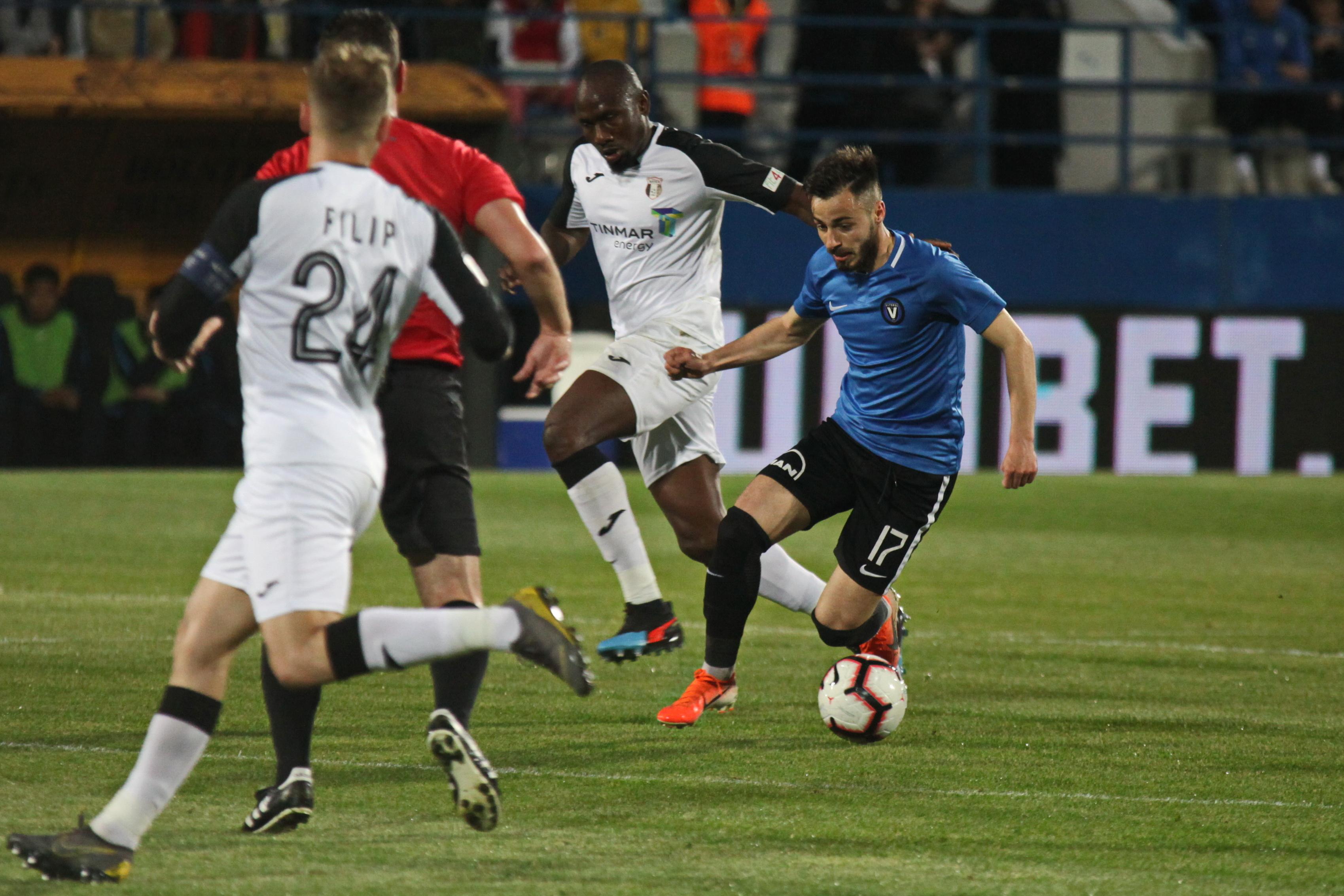 Andrei Ciobanu în meciul Viitorul - Astra Giurgiu. Sursă foto: sportpictures.eu