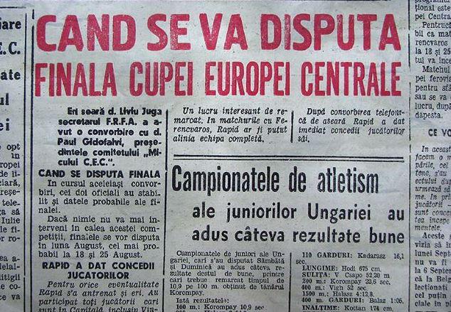 Cea mai nebună finală de Cupa României din istorie