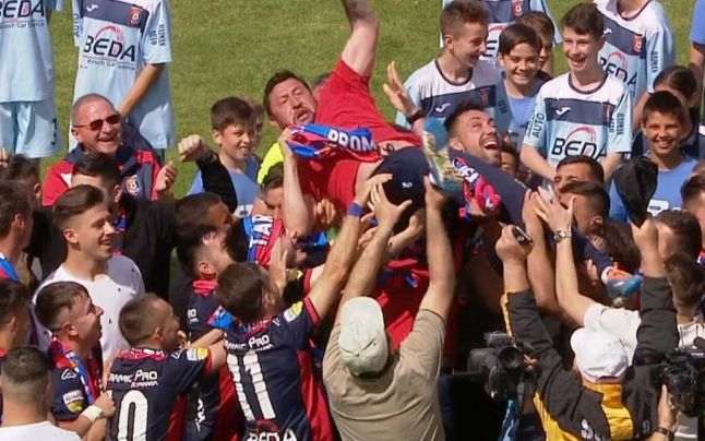 Chindia Târgovişte râde de echipele de tradiţie Fotbalul se joacă pe teren, nu pe bani şi suporteri EXCLUSIV (1)