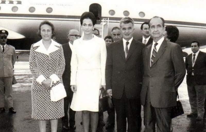 Soții Ceaușescu, alături de părinții omului care a coordonat arestarea Elenei Udrea în Costa Rica. Sursa foto:Facebook