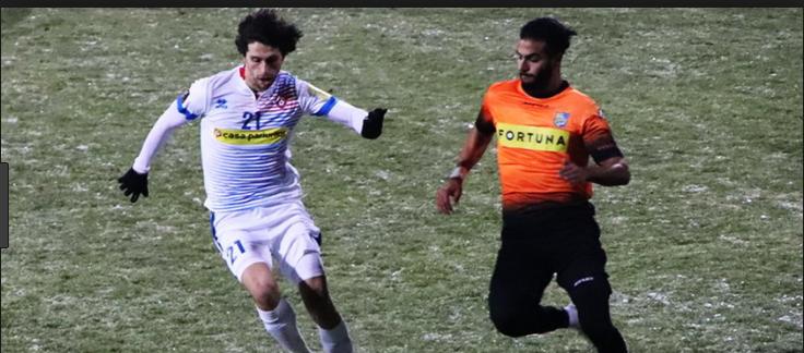 Dunărea Călăraşi - FC Botoşani. Este al patrulea meci direct din acest sezon. Botoşani a bătut odată, 1-0, acasă (foto)
