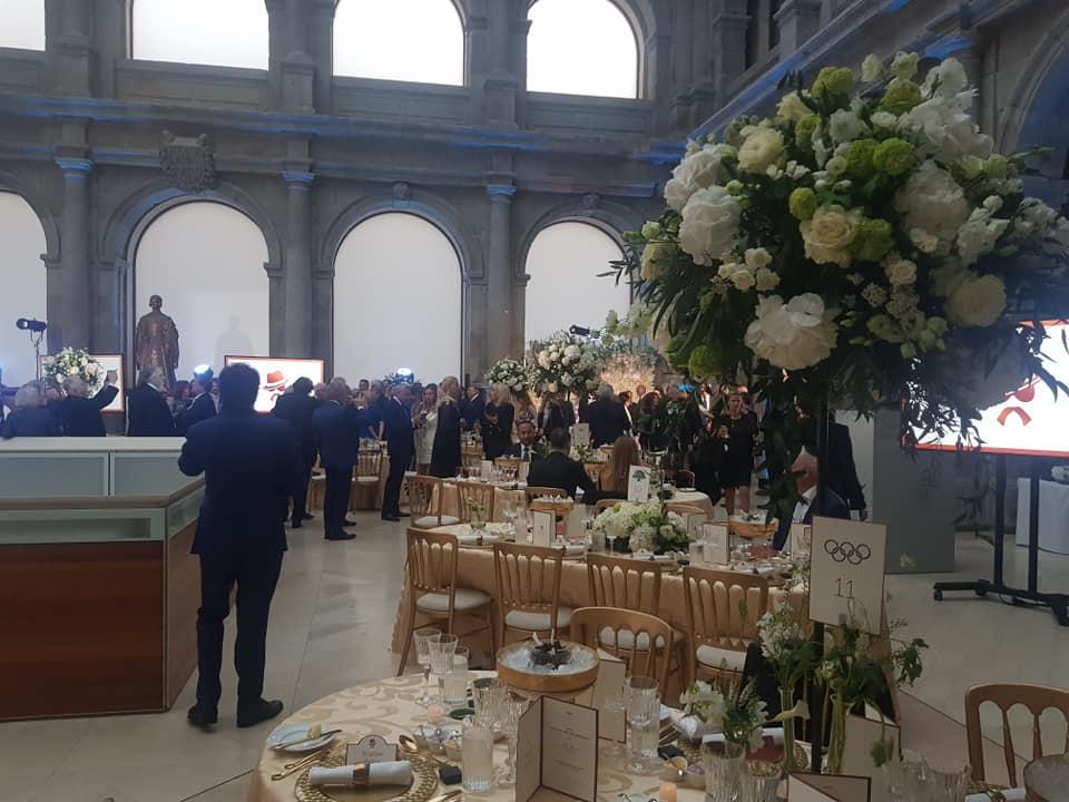 Ion Țiriac, super petrecere la Madrid! Cum a arătat meniul exclusivist de la aniversarea miliardarului. FOTO