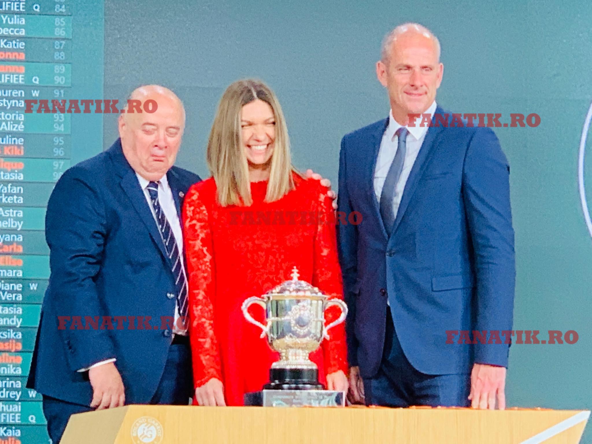 Simona Halep a vorbit după tragerea la sorţi de la Roland Garros 2019