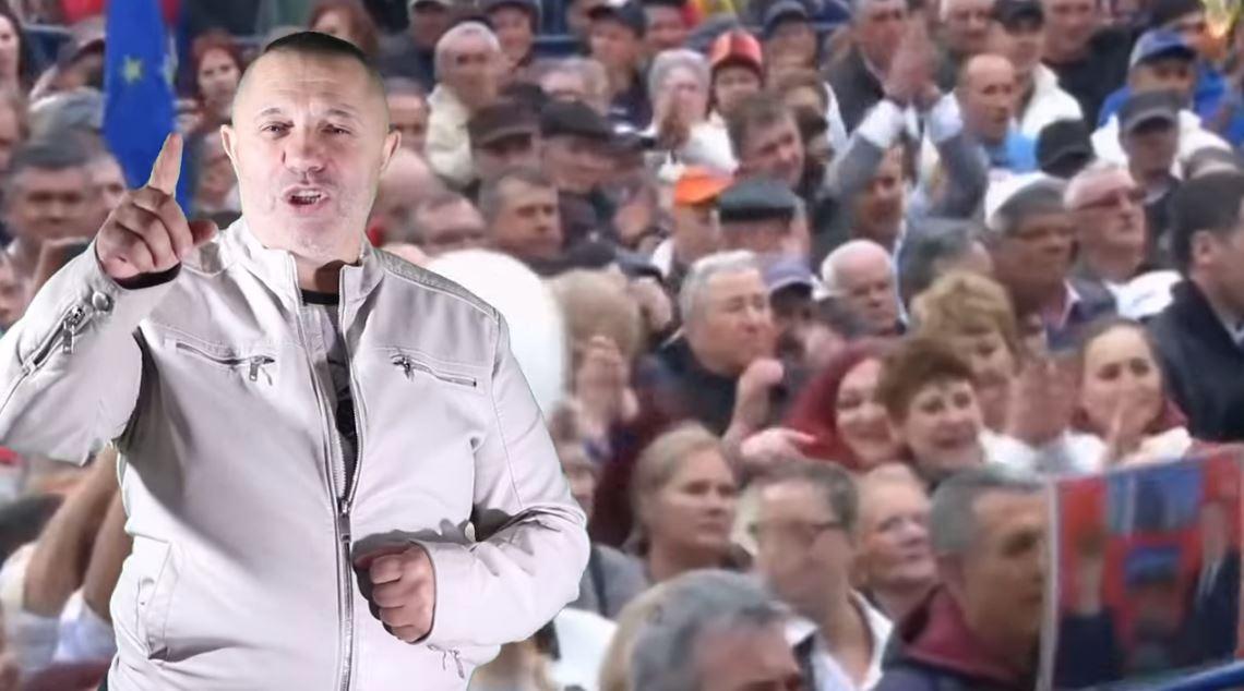 Nicolae Guță a făcut o manea pentru PSD