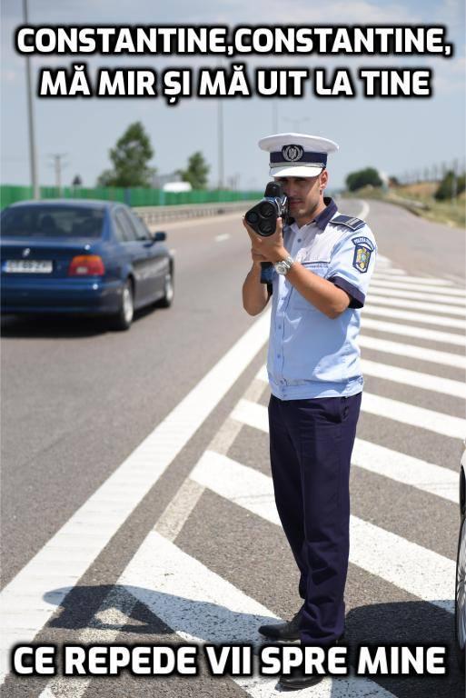 Poza publicată pe pagina de Facebook a Poliției Române, în ziua Sfinților Constantin și Elena.