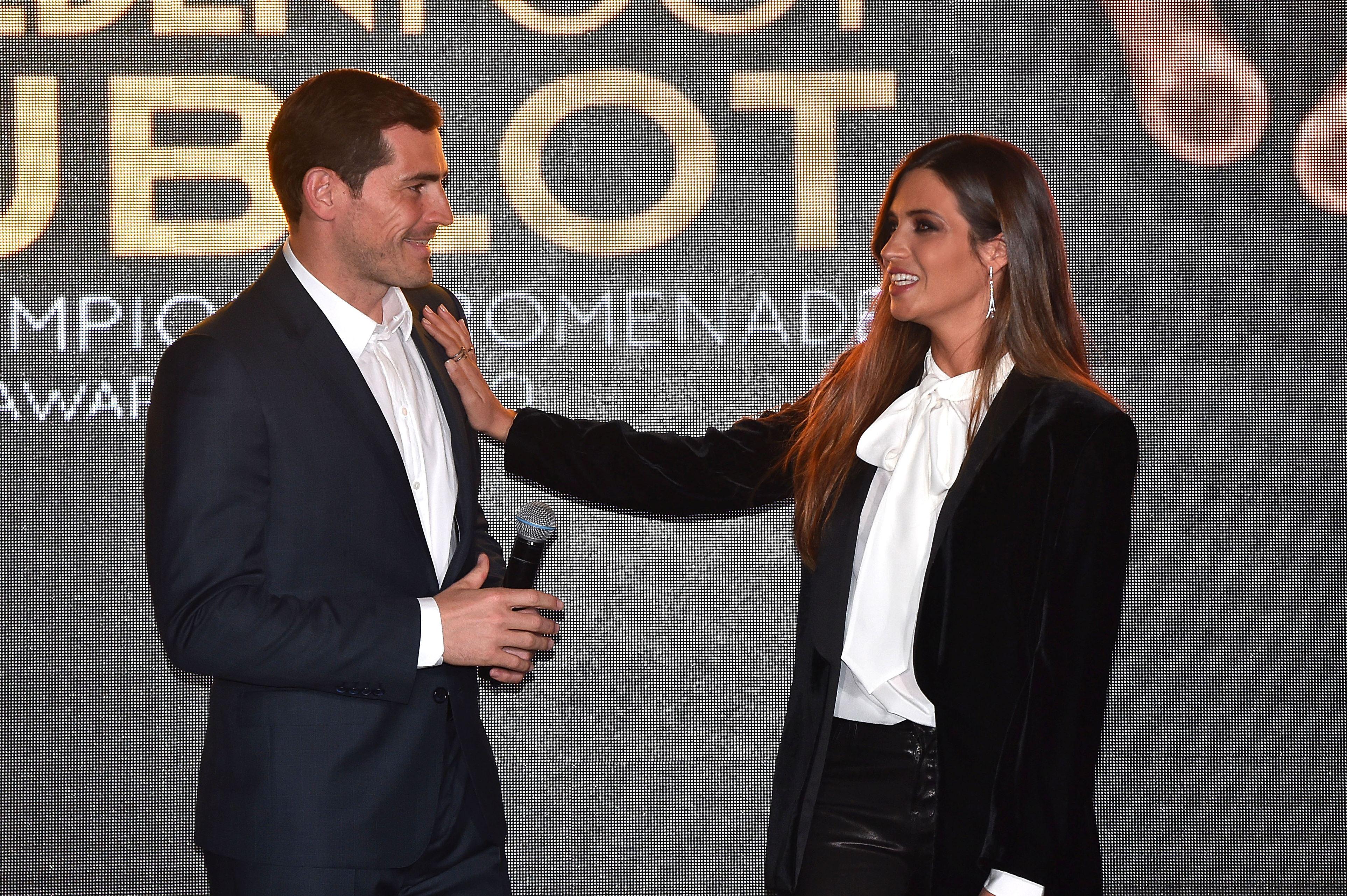 Iker Casillas și Sara Carbonero la un eveniment. Sursă foto: hepta.ro