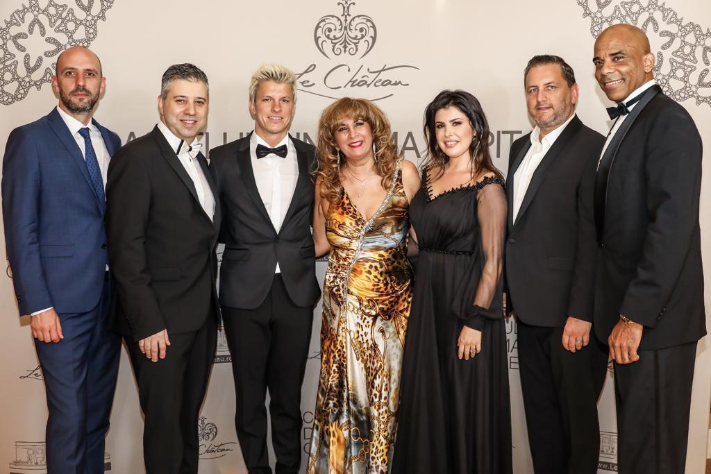 de la stânga la dreapta: Eugen Sorescu; Evgeny Afineevsky; Joonas Kent; Nora Seroussi; Laura Tatoli; Eduard Irimia; Howard Dell