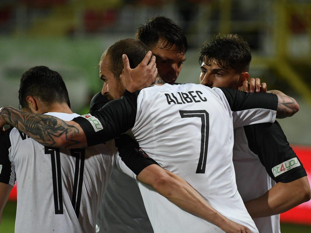 Meciul de fotbal dintre AFC Astra si Sepsi OSK, din etapa a 10-a a play-off-ului Ligii 1, disputat pe stadionul Marin Anastasovici din Giurgiu, luni, 20 mai 2019.© FOTO:George Ilinca/Sport Pictures