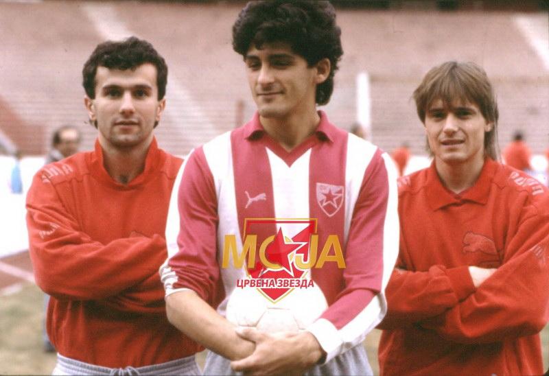 La Steaua Roşie a jucat alături de nume mari ca Savicevici, Stancovici sau Prosinecki