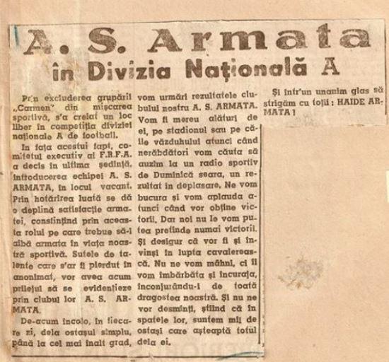 Carmen Bucureşti s-a răzbunat pe Steaua după 72 de ani