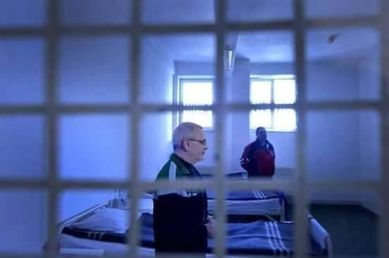 Liviu Dragnea fotografiat in celula