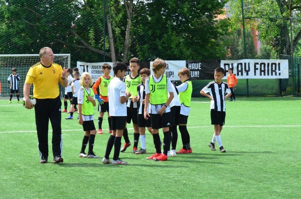 Massimo Pedrazzini copii Juventus Academy