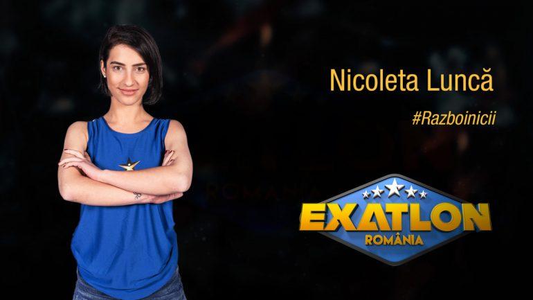 Nicoleta Luncă s-a calificat în finala Exatlon. Sursa foto: Exatlon.Kanal D