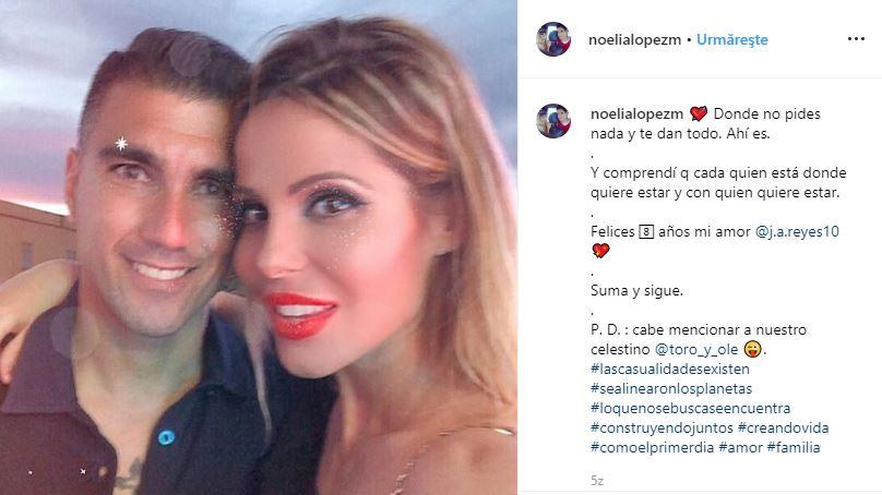 Noelia Lopez Jose Antonio Reyes soție