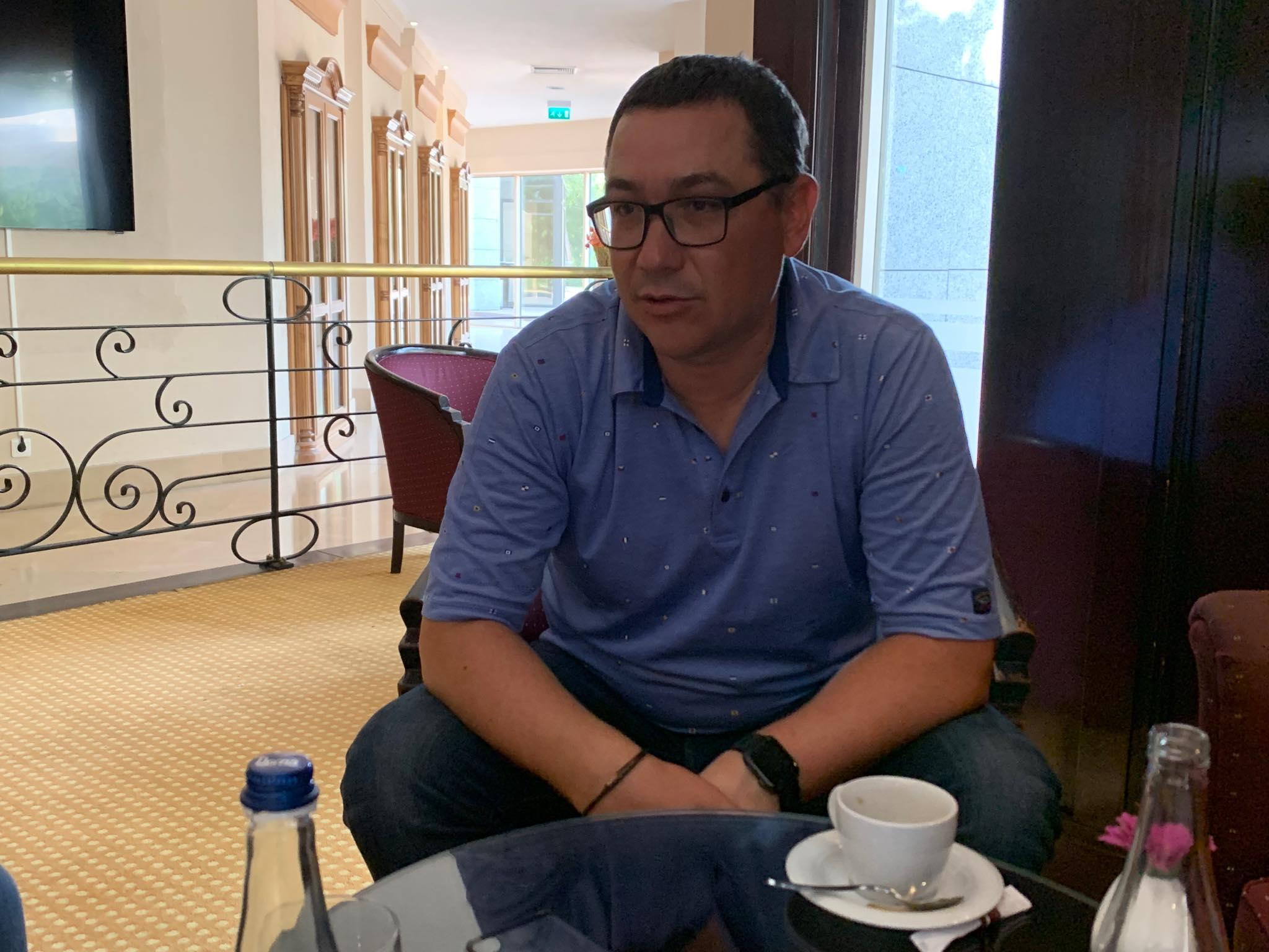 Interviu PE FATA cu Victor Ponta. Ce spune de Halep, Hagi, Olguta, Gigi Becali+pericolul Viktor Orban in Romania!
