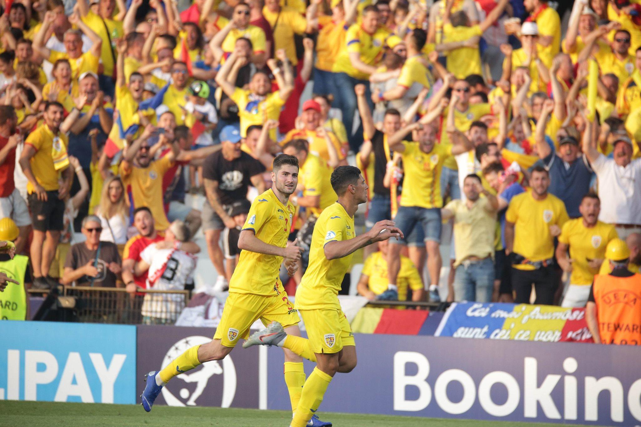 Florinel Coman a fost vedeta meciului cu Anglia, cel care ne-a calificat, practic, în semifinale