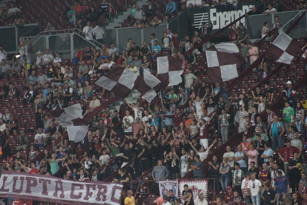 Galeria CFR-ului amenință cu neprezentarea le meciul cu Dinamo