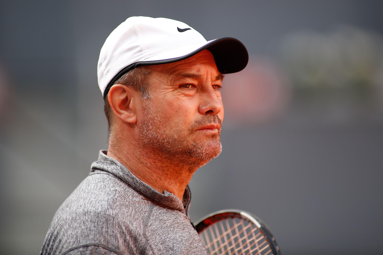 Daniel Dobre, antrenorul Simonei Halep, la turneul Madrid Open 2019. Sursă foto: hepta.ro