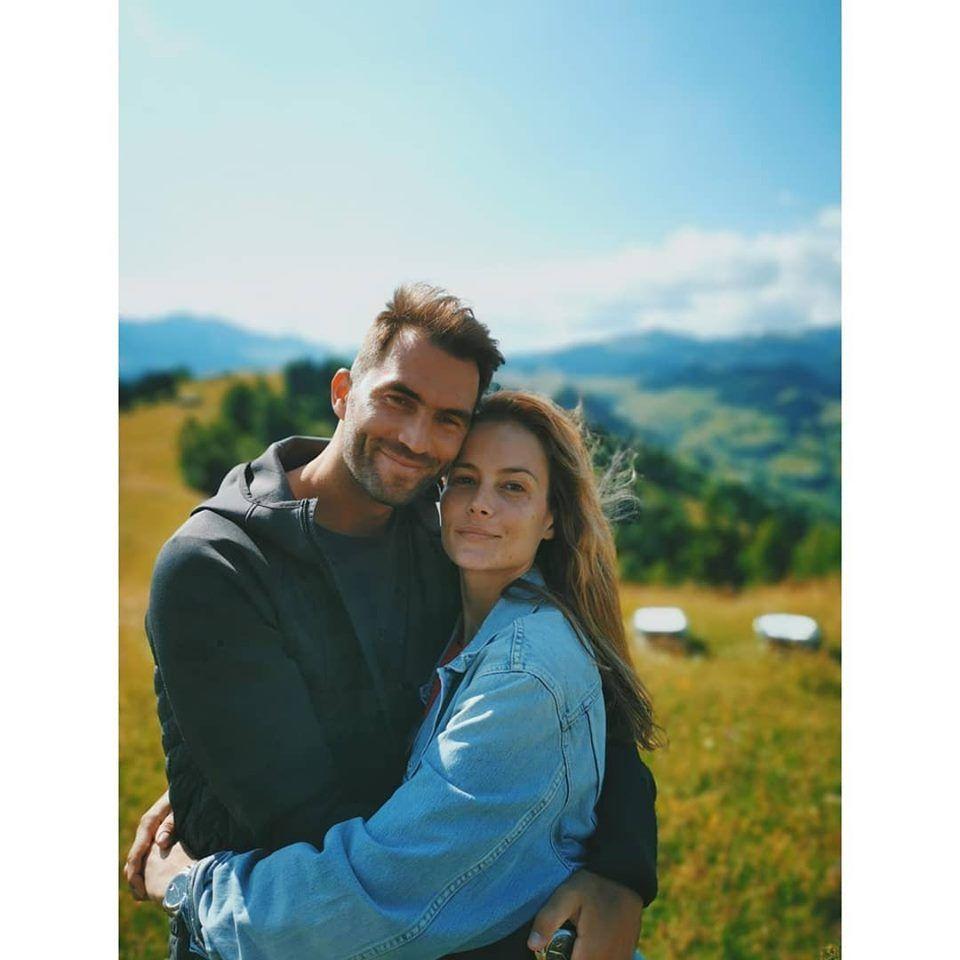 Horia Tecău și Natalia Borges în scurta vacanță petrecută în România