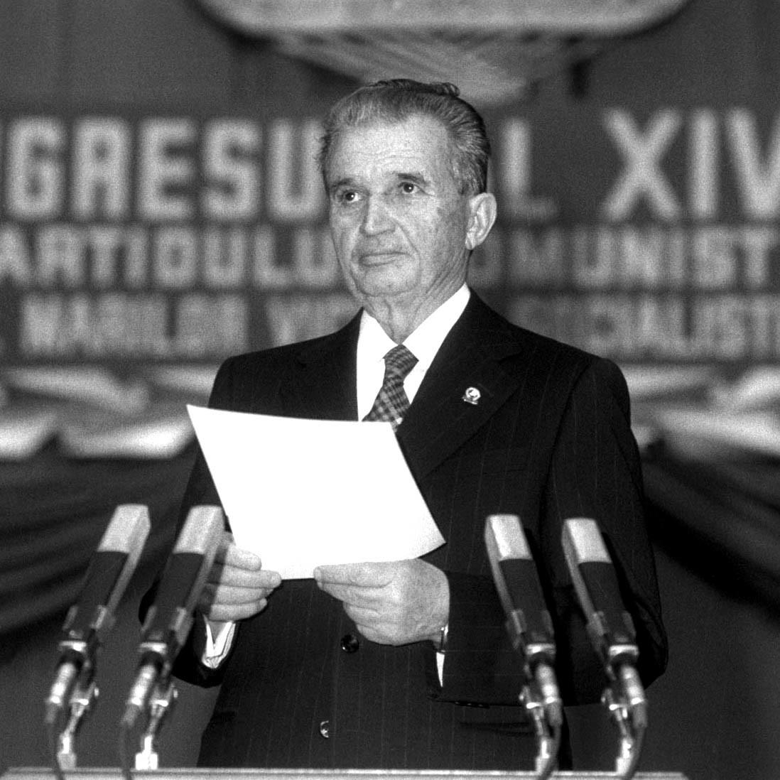 Nicolae Ceaușescu nu voia ca lumea să afle de bolile care îl măcinau. Sursa foto: antena3.ro