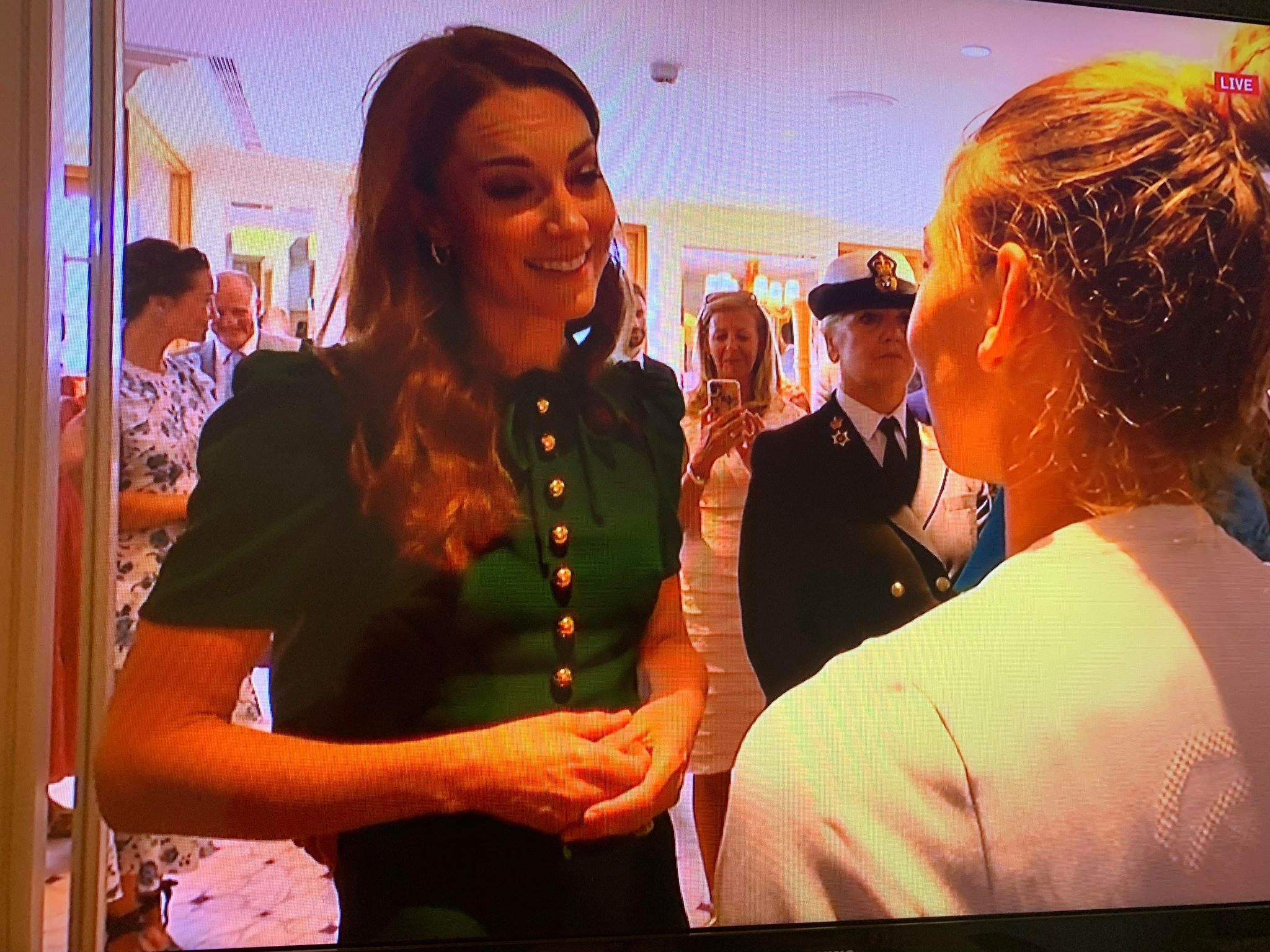 Simona Halep, întâlnire de 5 stele cu Ducesa de Cambridge! Ce i-a transmis Kate Middleton