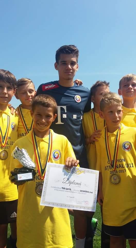 Cu Ianis Hagi şi diploma de cel mai bun jucător al turneului