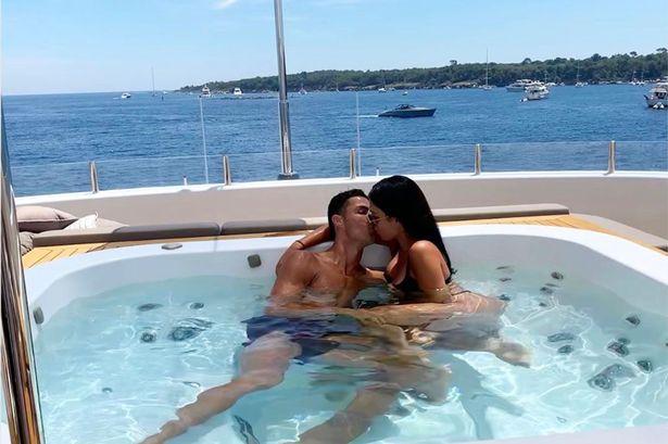 Georgina Rodriguez și Cristiano Ronaldo