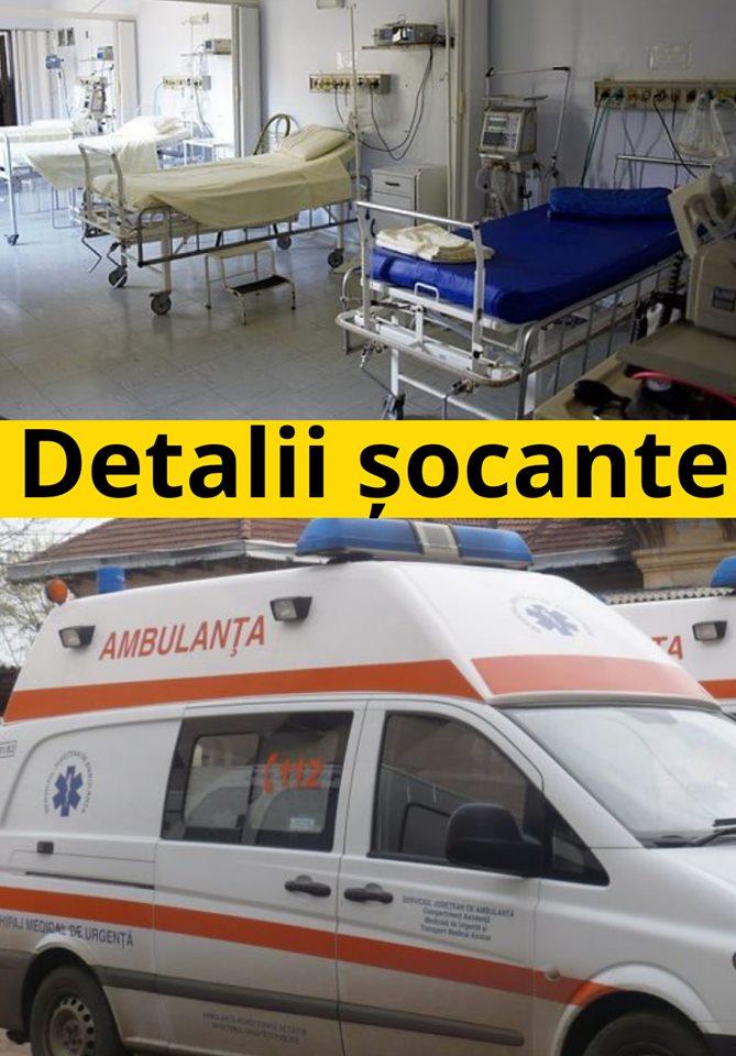 Un pacient, dezvaluiri SOC din SPITALUL MORTII! Doctorii NE BATEAU si ne furau! Daca ii verifica pe camere, fac toti PUSCARIE!