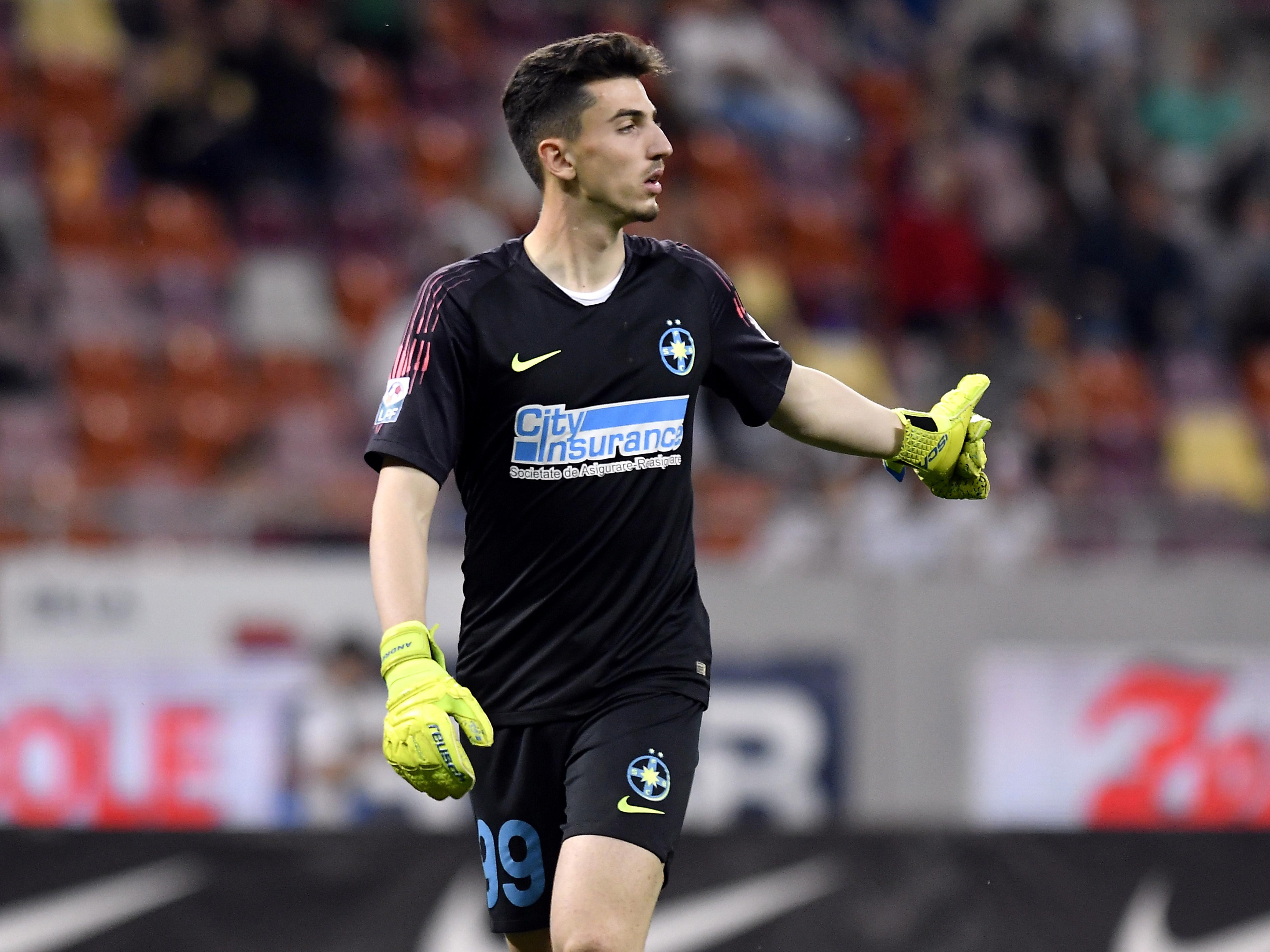 Andrei Vlad a fost ironizat de fani înainte de FCSB - Poli Iaşi (sursă foto: sportpictures.eu)