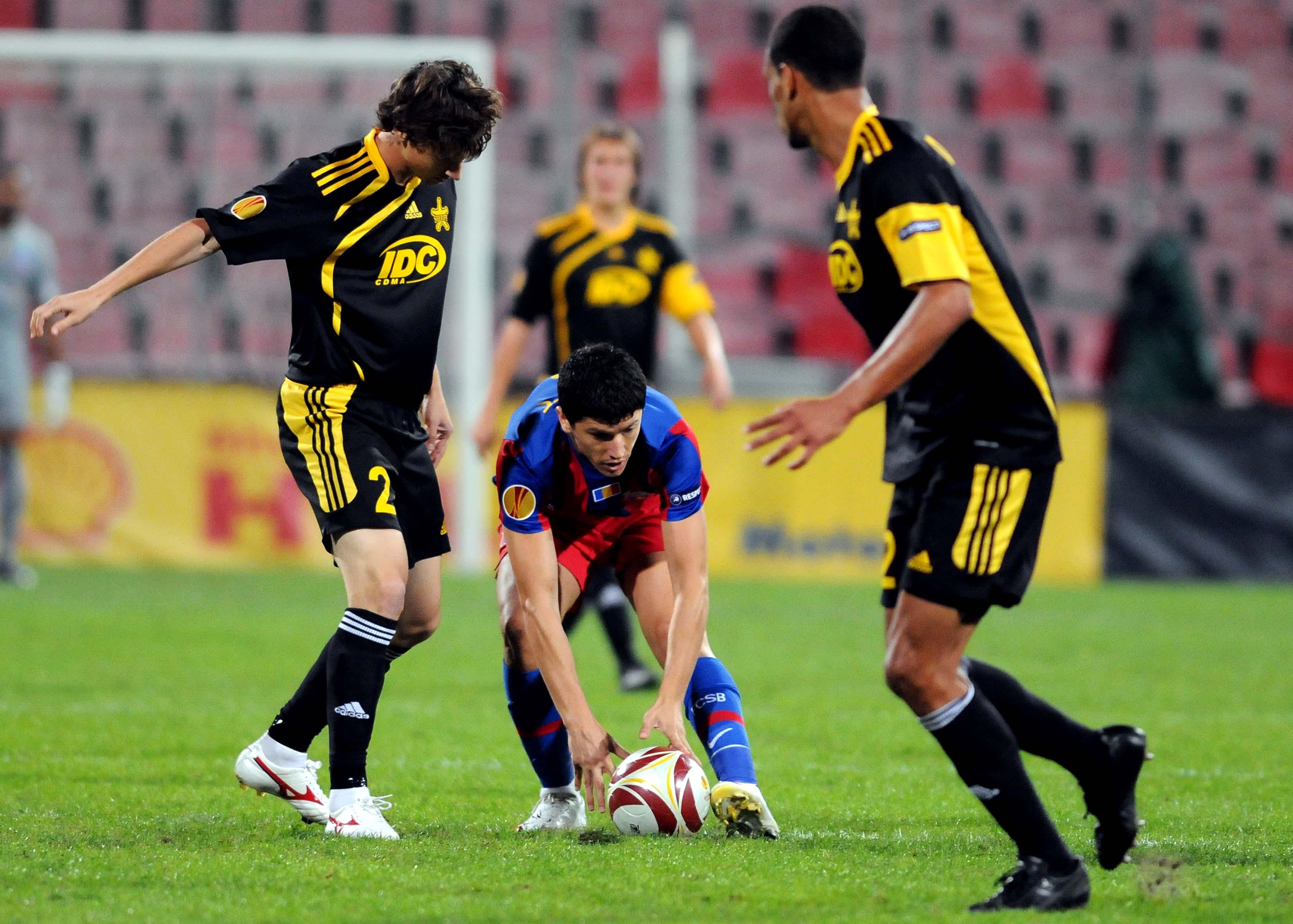 FCSB s-a împiedicat de Sheriff Tiraspol într-u meci jucat cu porţile închise (sursă foto: sportpictures.eu)