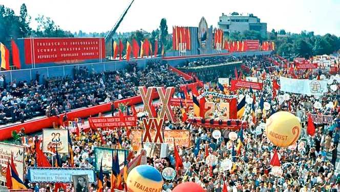 Ce făcea Nicolae Ceaușescu în fiecare an pe 23 august. Parada 23 august
