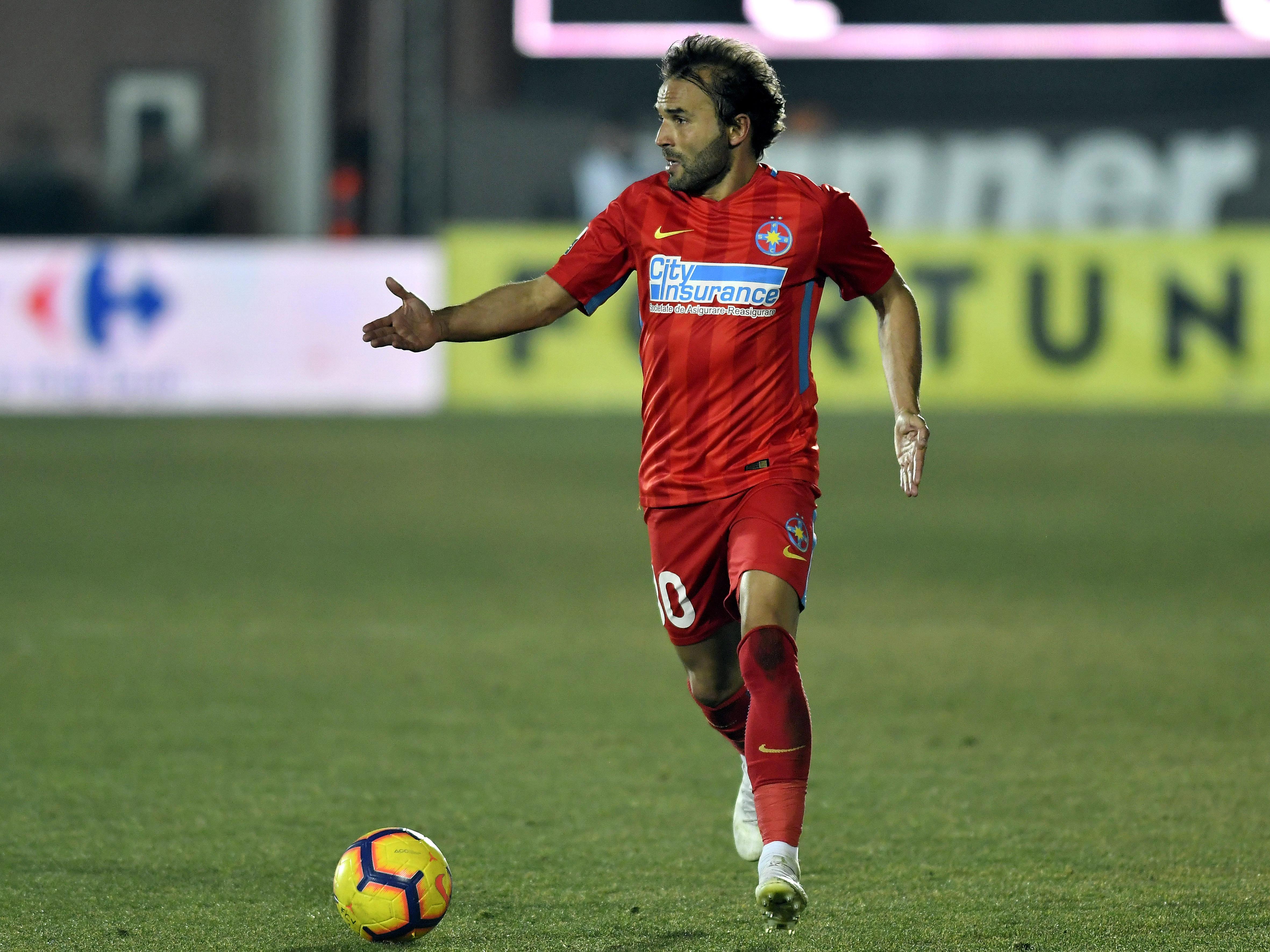 Filipe Teixeira în meciul FC Voluntari - FCSB din Casa Pariurilor Liga 1