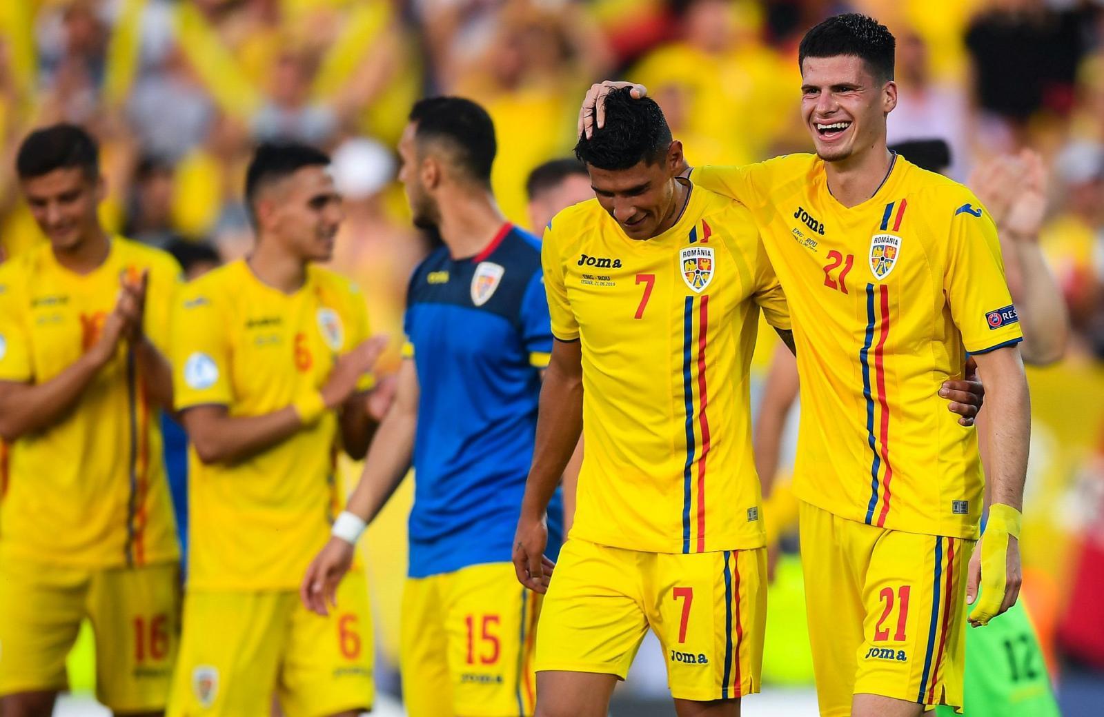 Jucătorii echipei naționale a României U21