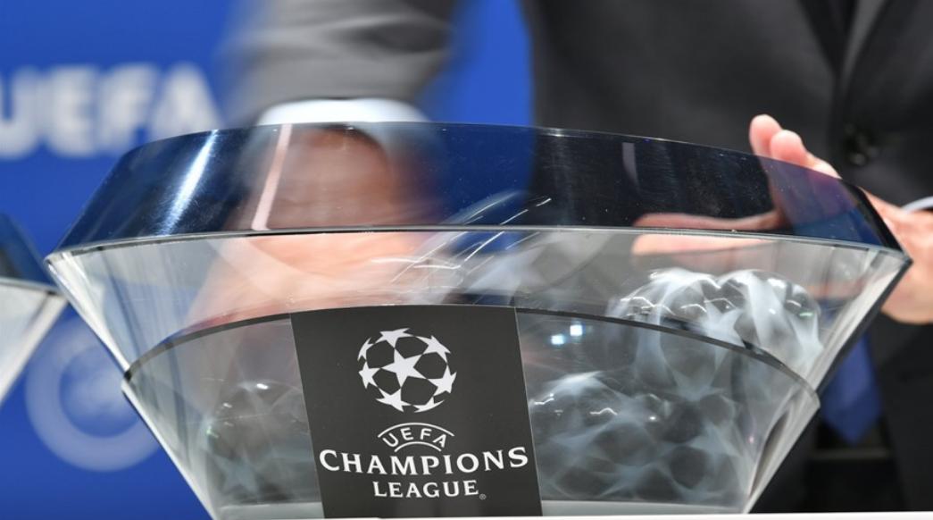 Tragerea la sorți pentru grupele Ligii Campionilor. Sursă Foto: UEFA