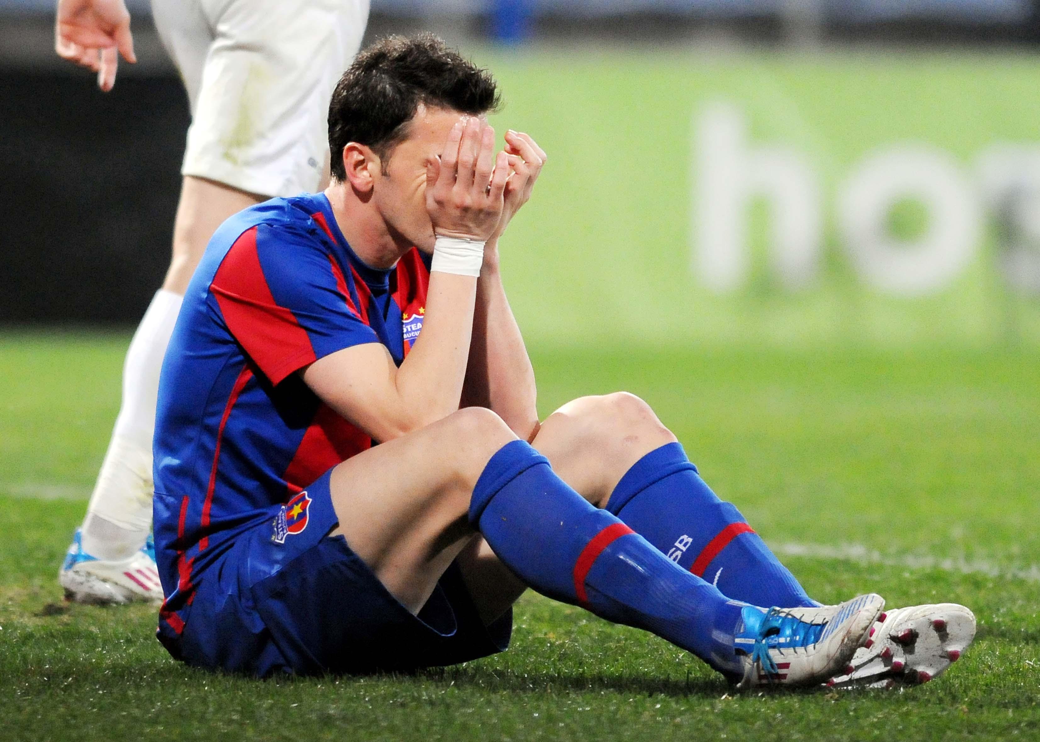 FCSB a fost învinsă cu 0-1 de Unirea Urziceni în 2010. Sursă Foto: Sportpictures