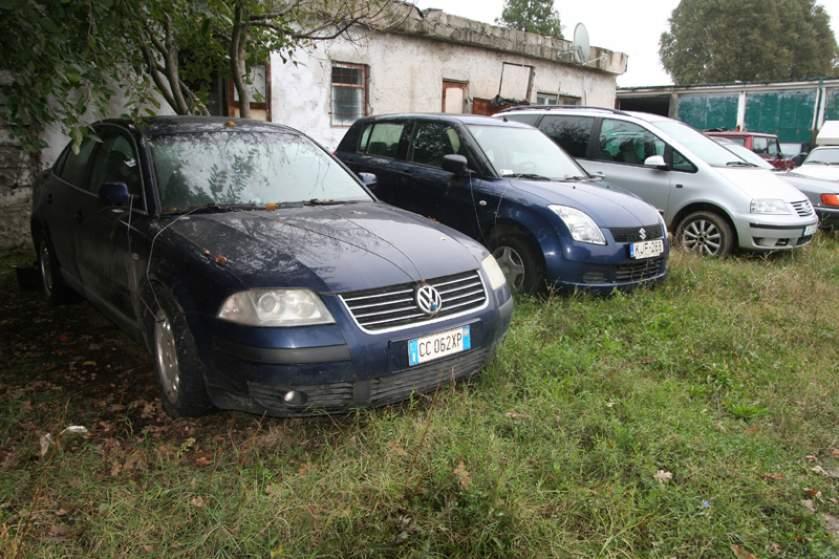 ANAF a scos la licitaţie maşini confiscate