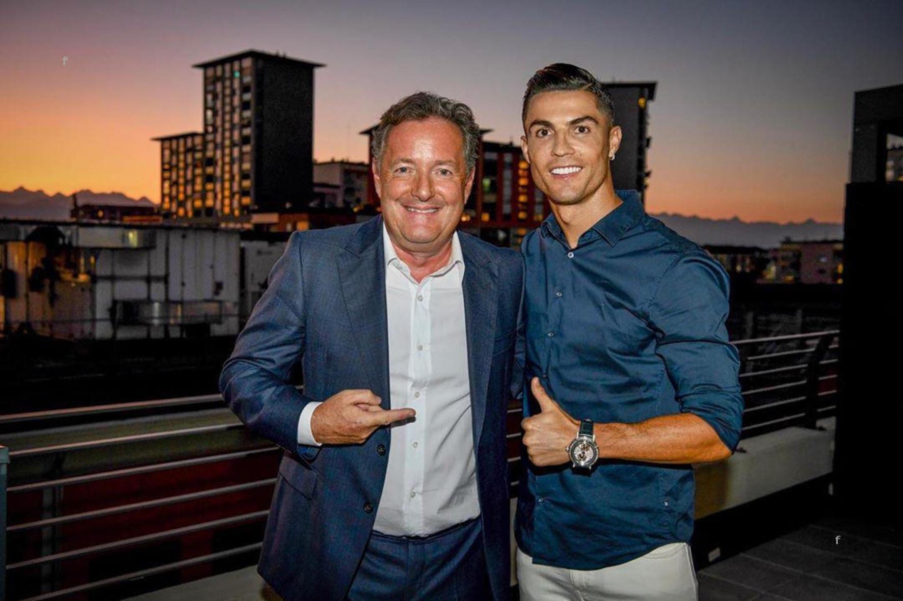Cristiano Ronaldo, interviu altfel în presa din Marea Britanie (sursă foto: hepta.ro)
