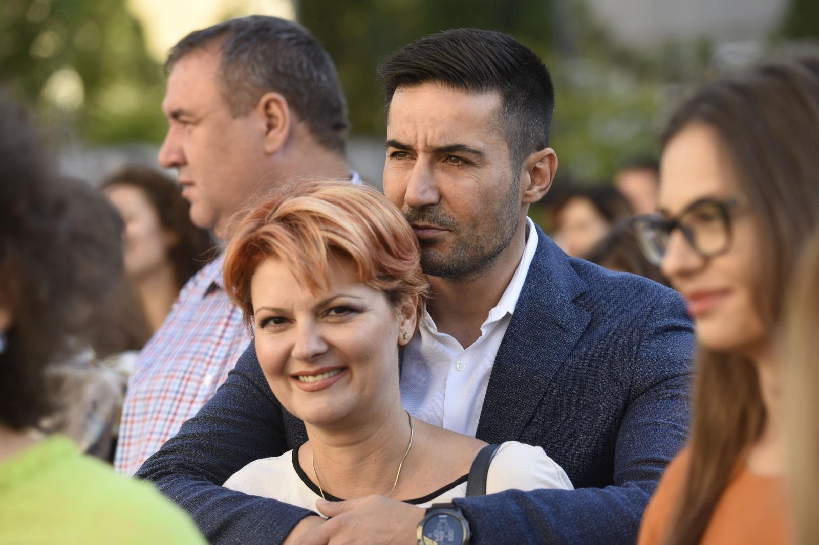 Emoții pentru Lia Olguța Vasilescu și Claudiu Manda! Copii Lia și Manda