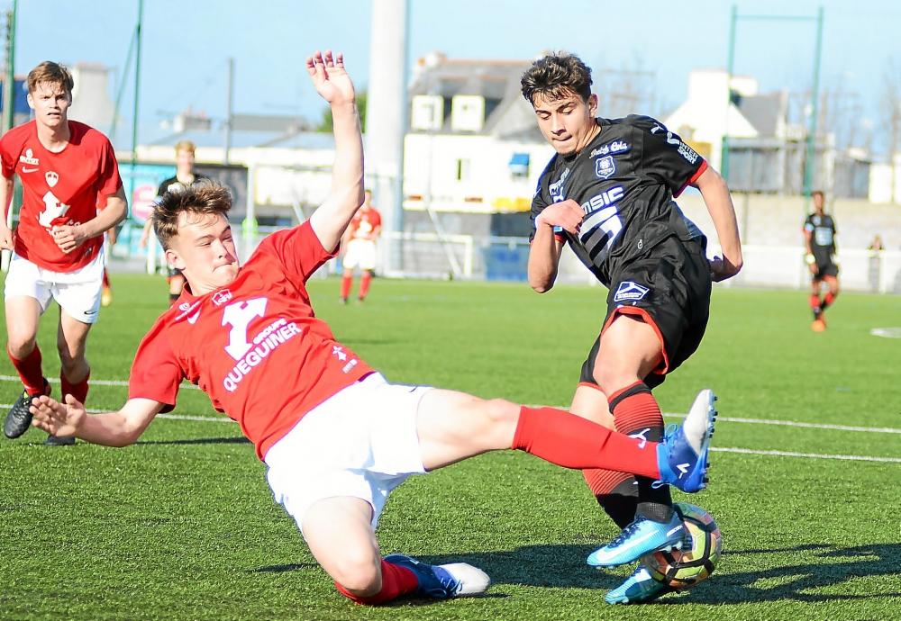 George Merloi în vremea când juca pentru Rennes. Photo Gauthier Le Roux