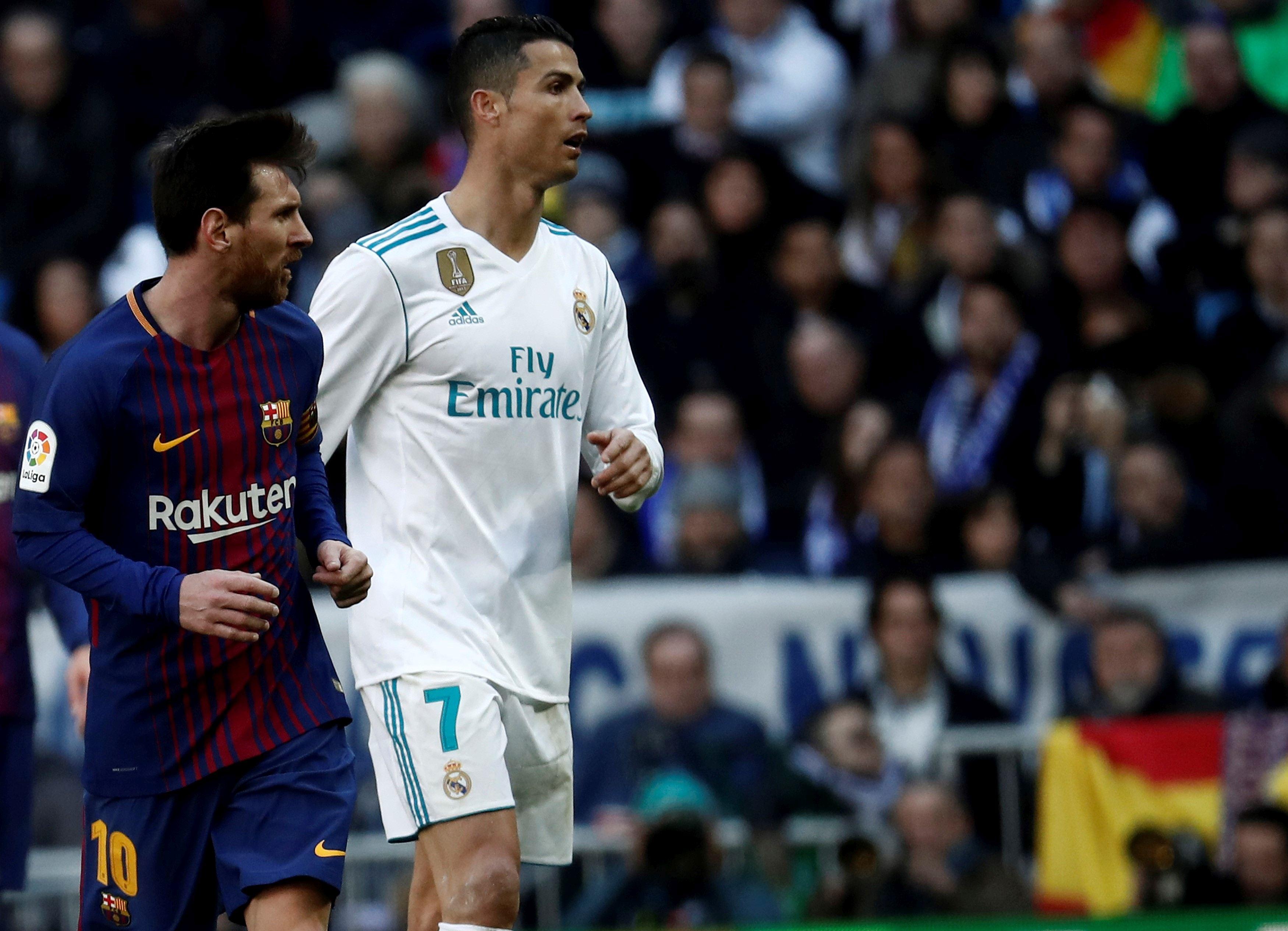 Lionel Messi și Cristiano Ronaldo. Sursă foto: hepta.ro