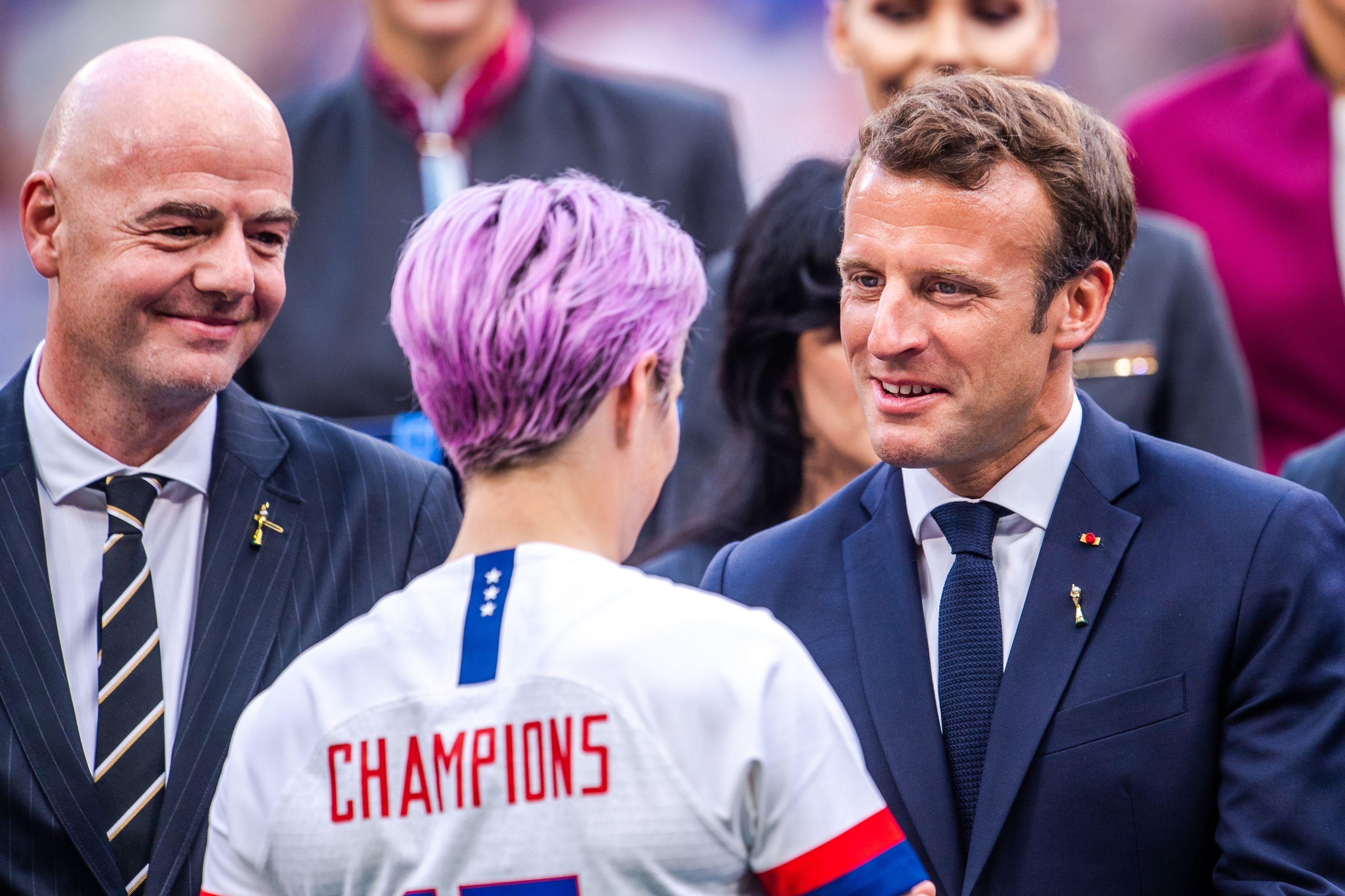 Megan Rapinoe, câștigătoare a Campionatului Mondial de fotbal feminin. Sursă foto: hepta.ro