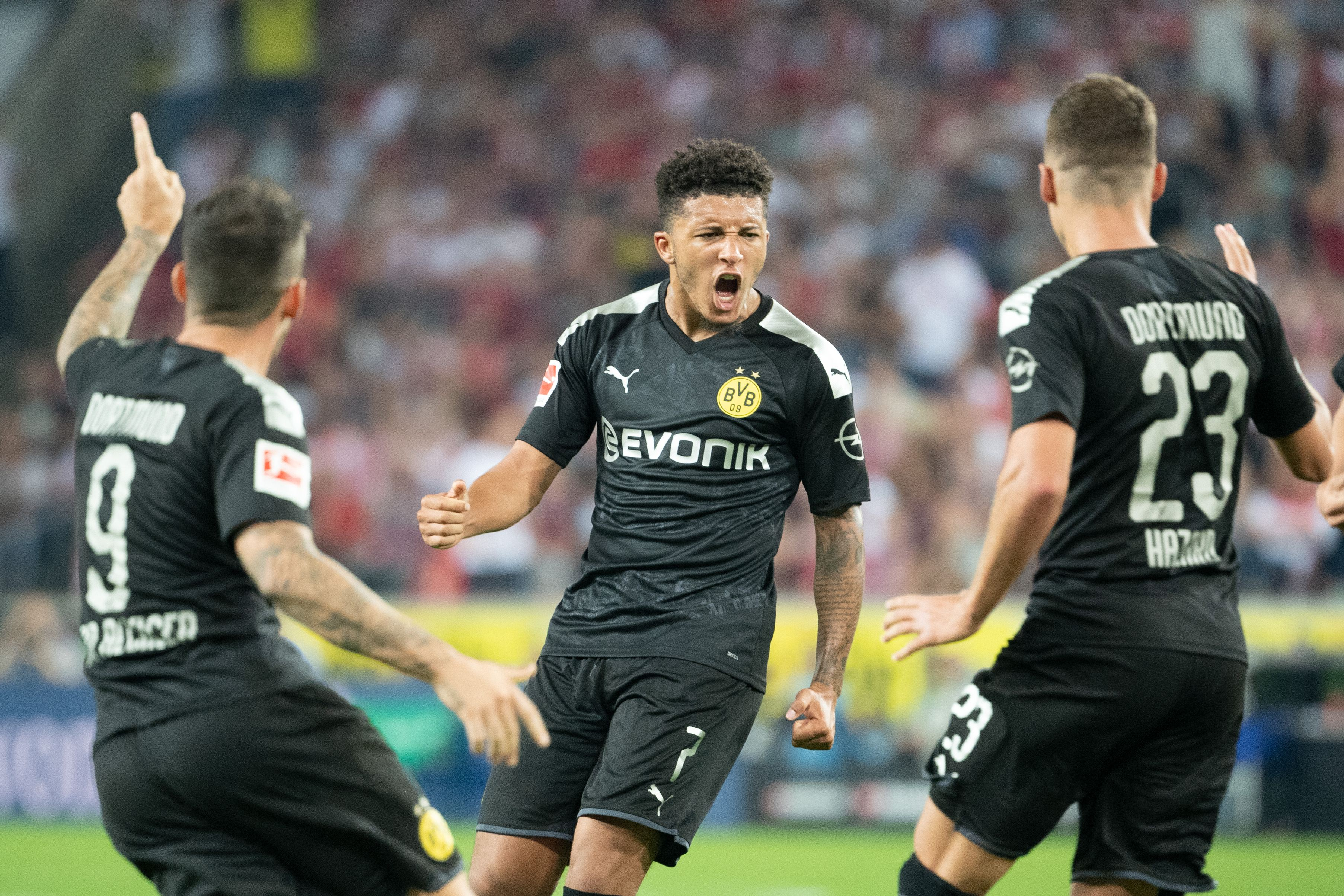 Jadon Sancho este noul star de la Dortmund. Sursă Foto: Hepta